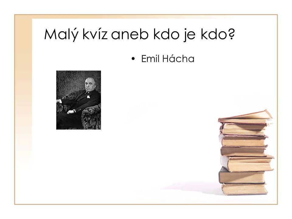 •Emil Hácha