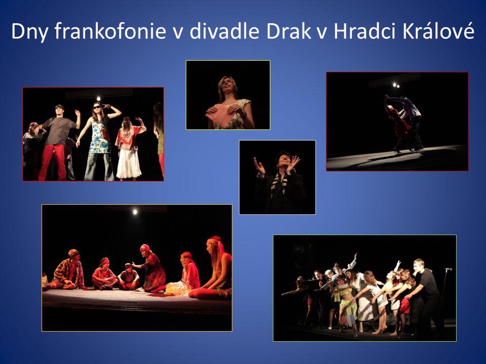 Dny frankofonie v divadle Drak v Hradci Králové
