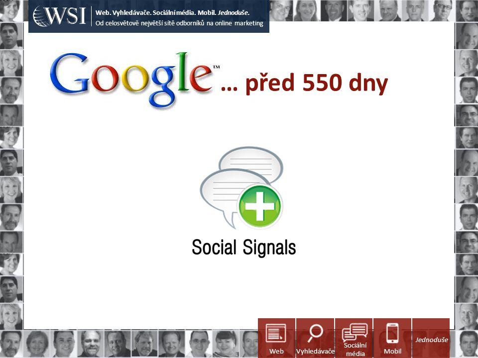 WSI – váš partner pro online marketing Od celosvětově největší sítě odborníků na online marketing Web.