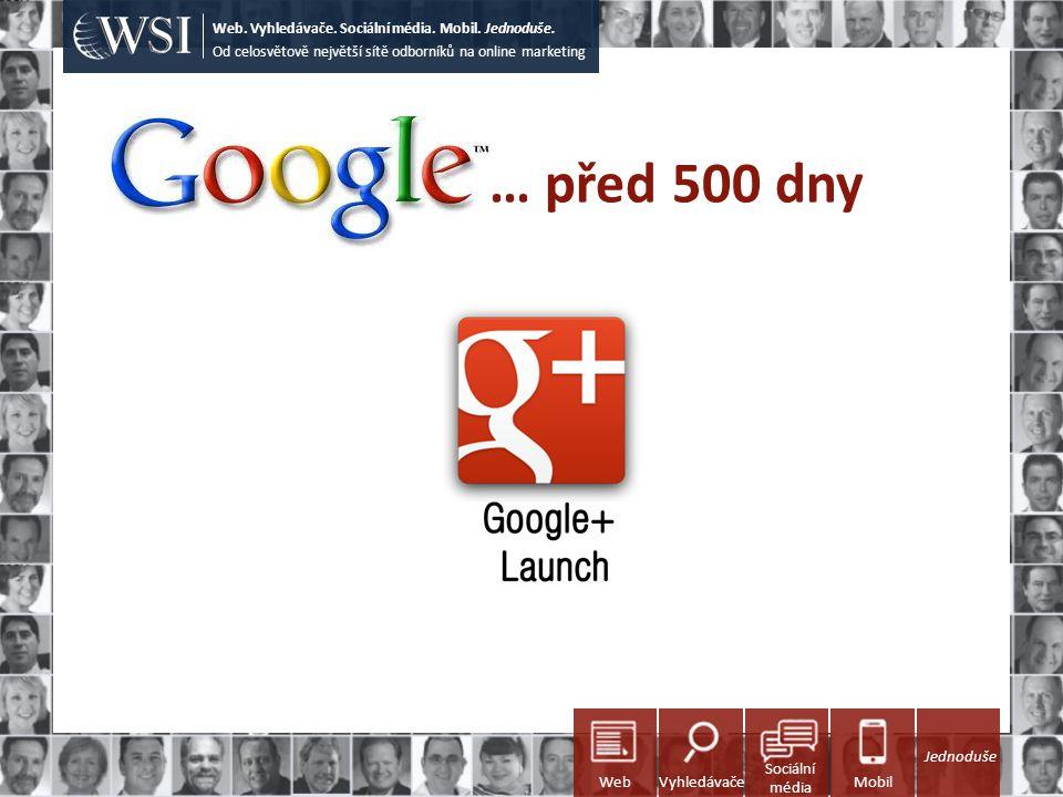 … před 500 dny Od celosvětově největší sítě odborníků na online marketing Web. Vyhledávače. Sociální média. Mobil. Jednoduše. Sociální média WebVyhled