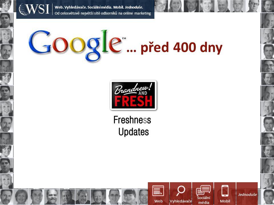 … před 400 dny Od celosvětově největší sítě odborníků na online marketing Web. Vyhledávače. Sociální média. Mobil. Jednoduše. Sociální média WebVyhled