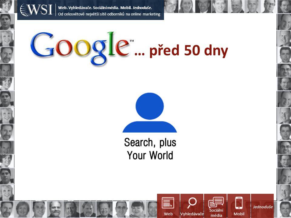 … před 50 dny Od celosvětově největší sítě odborníků na online marketing Web. Vyhledávače. Sociální média. Mobil. Jednoduše. Sociální média WebVyhledá