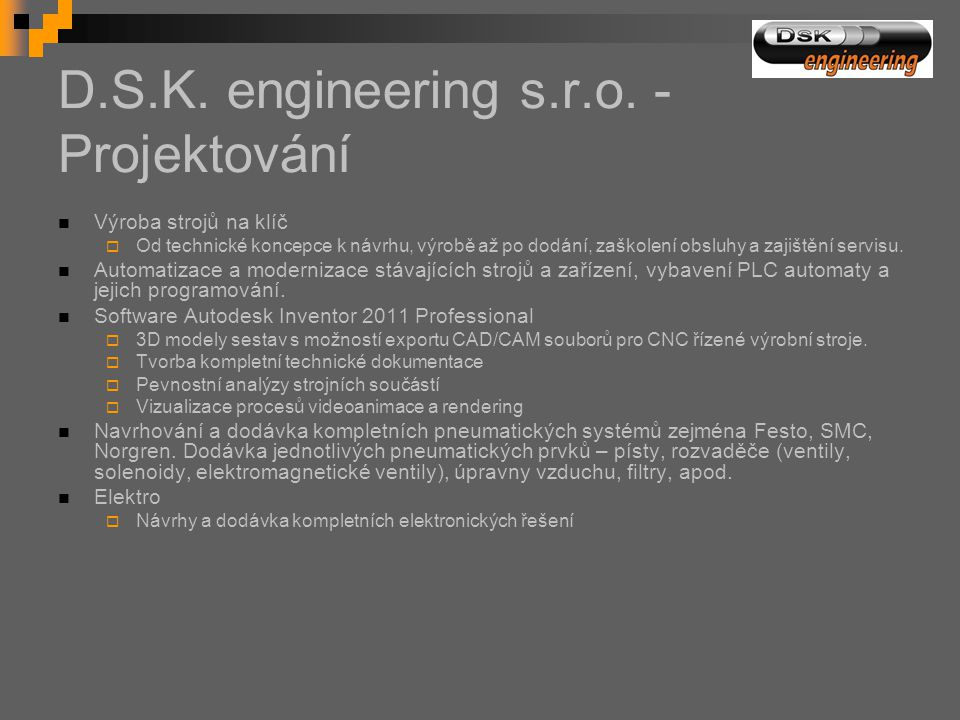 D.S.K.engineering s.r.o.