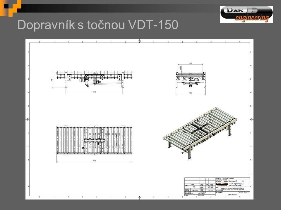 Dopravník s točnou VDT-150