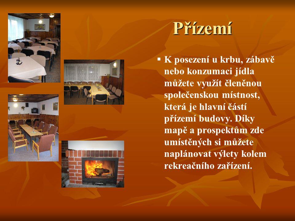 Pokoje +   Součástí rekreačního střediska Radiměř jsou v prvním patře i dva nadstandardní pokoje pro osm osob s novým nábytkem, rádiem, televizí a společným balkónem.
