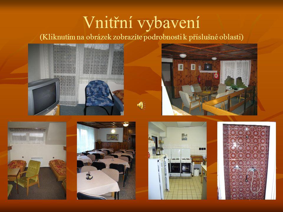 Charakteristika zařízení   Jedná se o zděný objekt s ubytovací kapacitou 39 lůžek ve 12-ti dvou až pětilůžkových pokojích. Zařízení prošlo v posledn