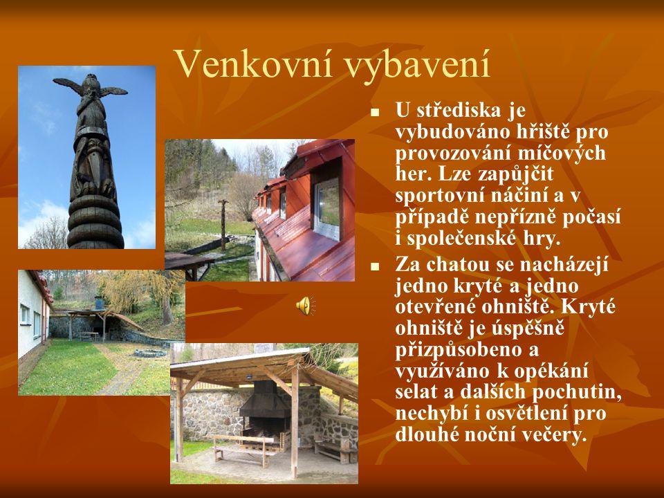 Vnitřní vybavení (Kliknutím na obrázek zobrazíte podrobnosti k příslušné oblasti)