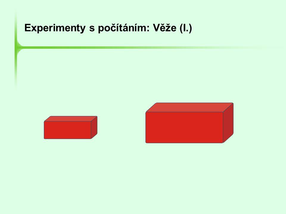 Experimenty s počítáním: Věže (I.)