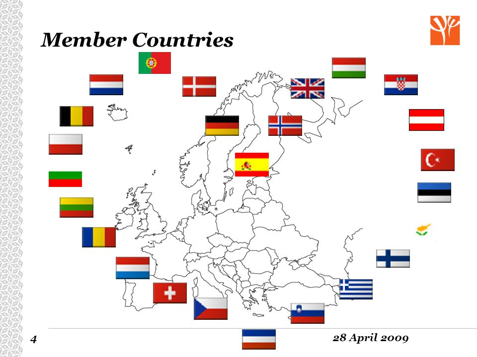 428 April 2009 Member Countries