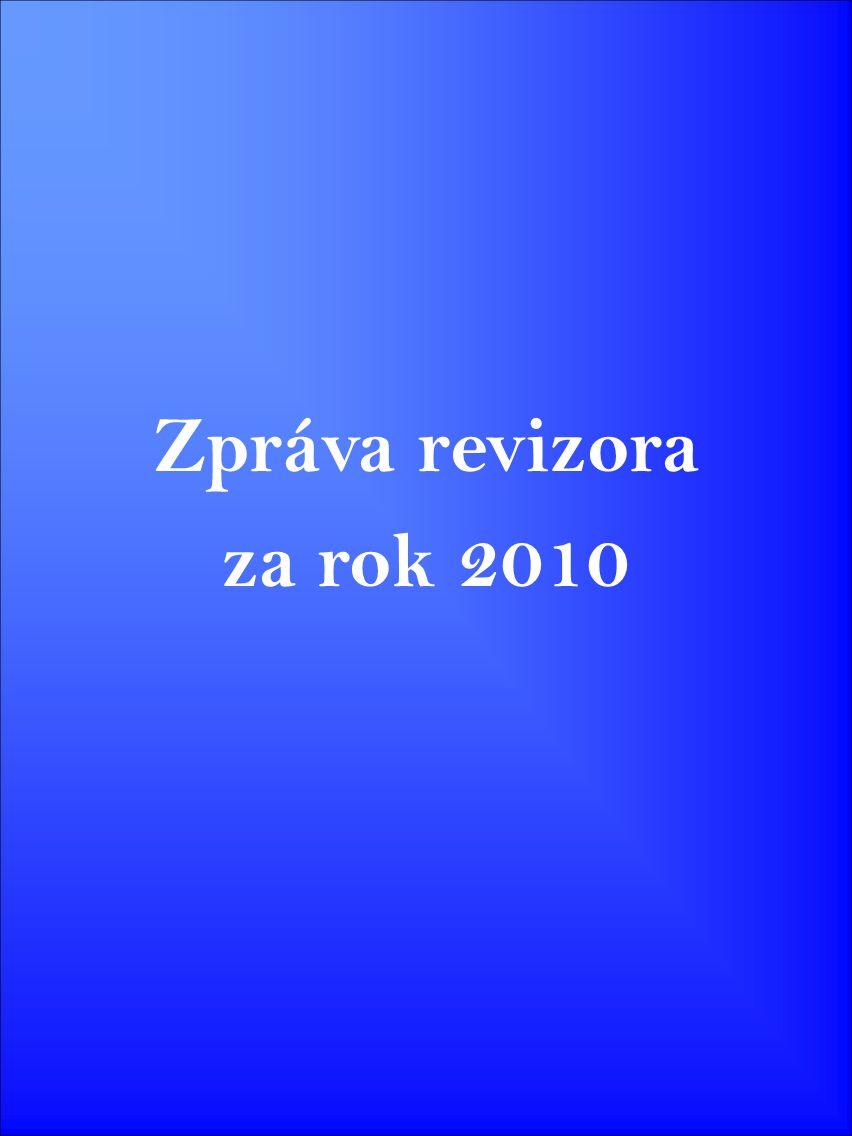 Zpráva revizora za rok 2010