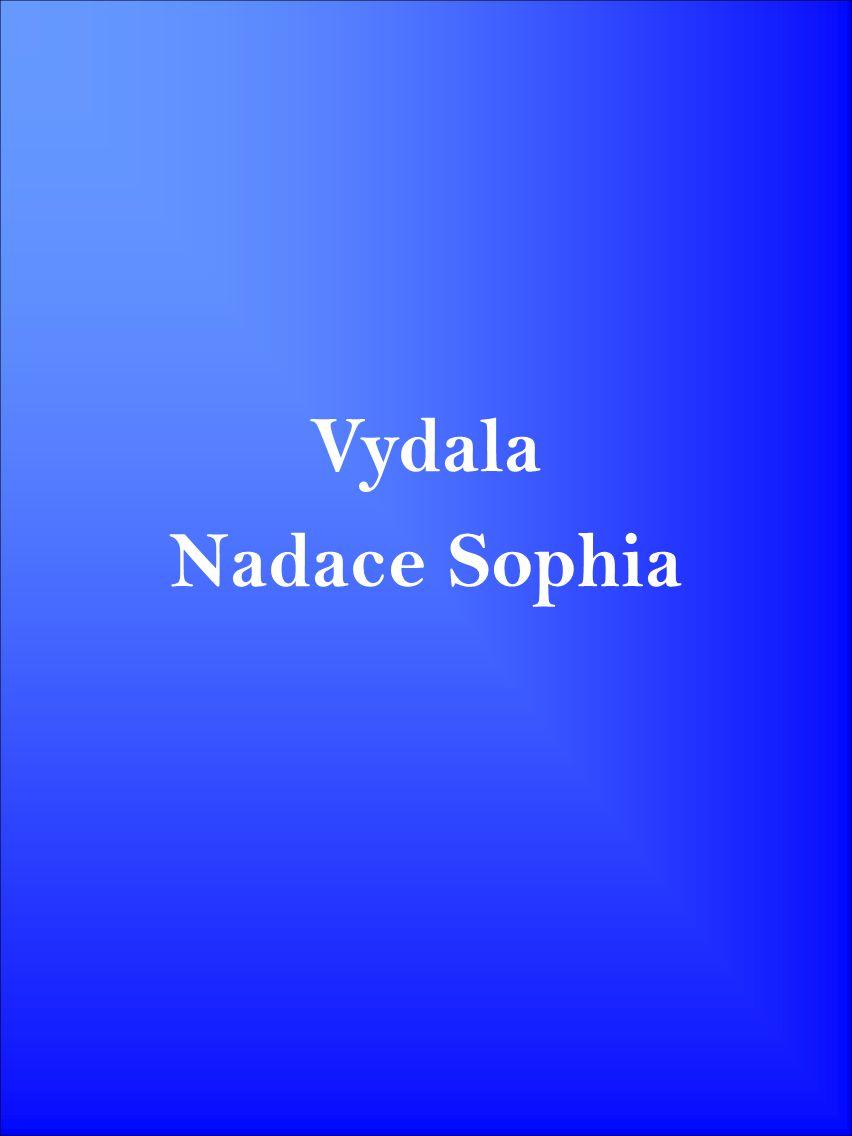 Vydala Nadace Sophia