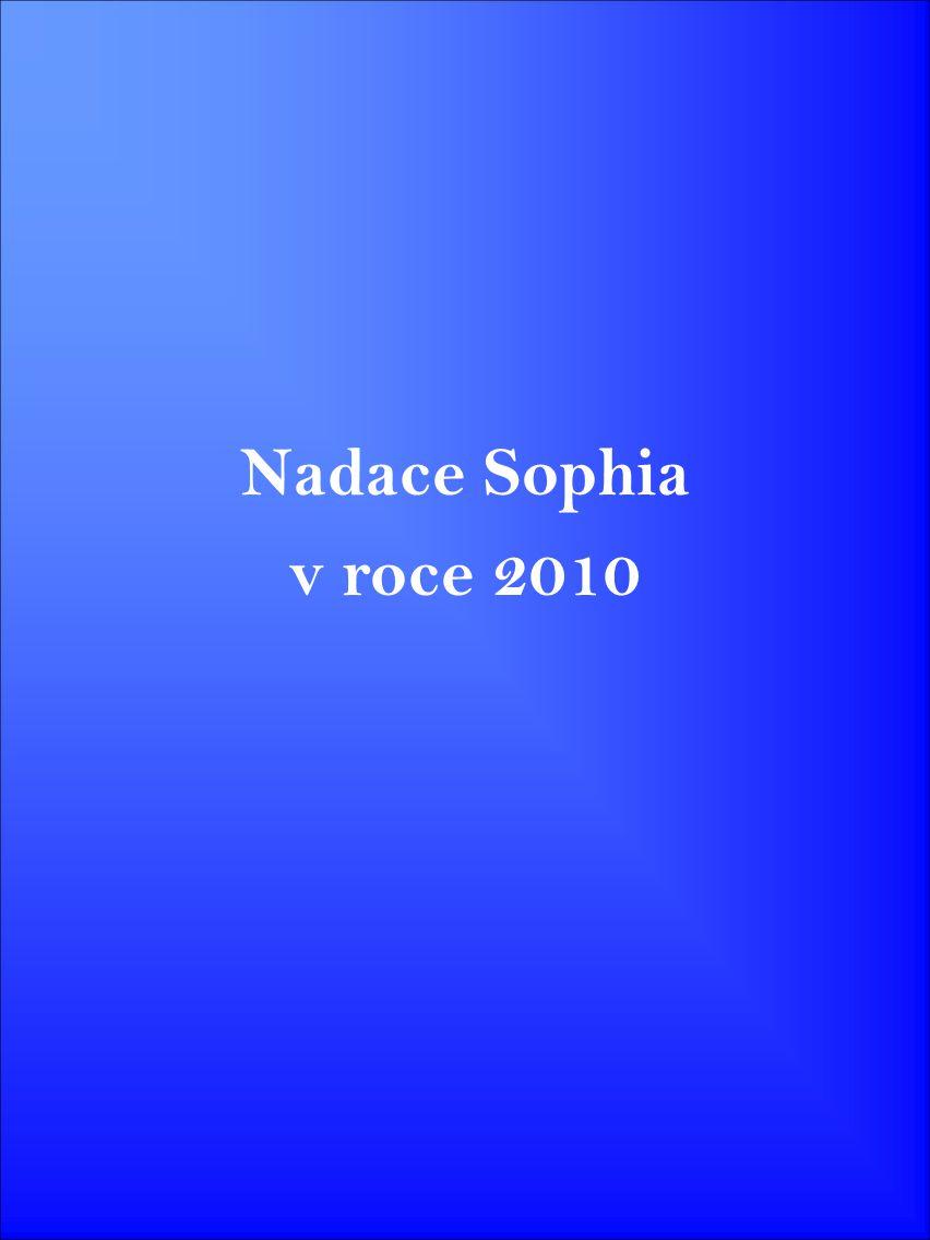 Nadace Sophia v roce 2010
