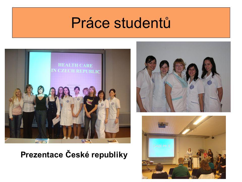 Práce studentů Prezentace České republiky