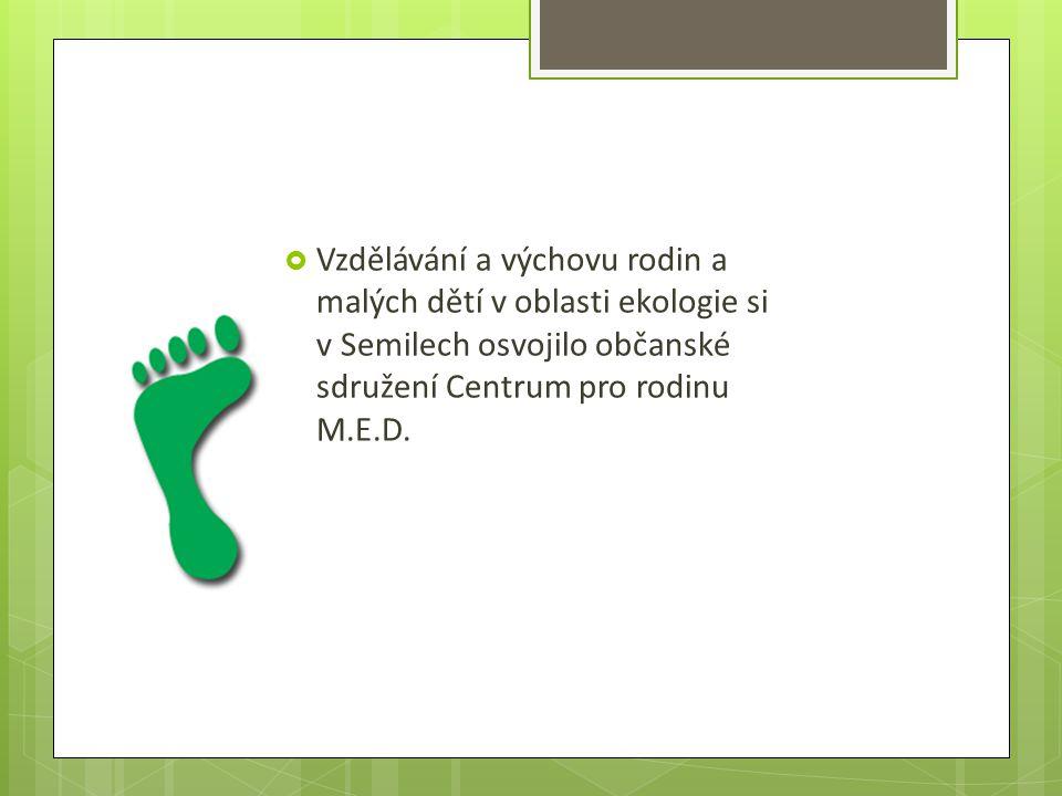  V areálu památkově chráněné zelené dřevěnky v Jílovecké ulici provozuje malé ekostředisko, zaměřené na EVVO (ekologická výchova, vzdělání a osvěta) v rodině a u nejmenších dětí z mateřských a základních škol.