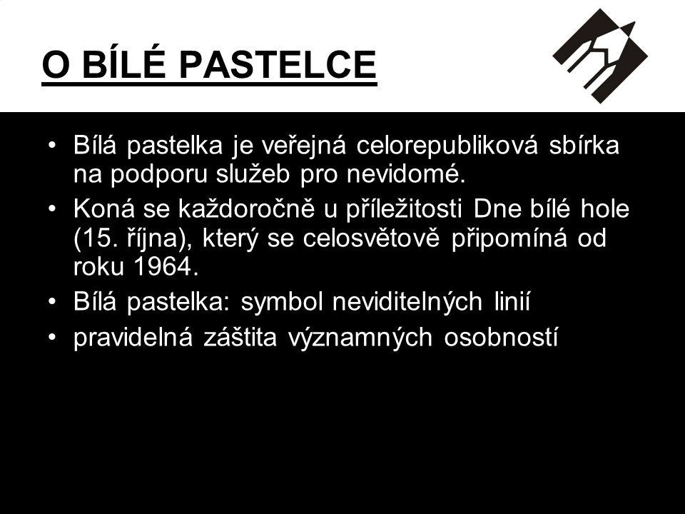 CELOSTÁTNÍ VEŘEJNÁ SBÍRKA NA PODPORU NEVIDOMÝCH Sjednocená organizace nevidomých a slabozrakých ČR