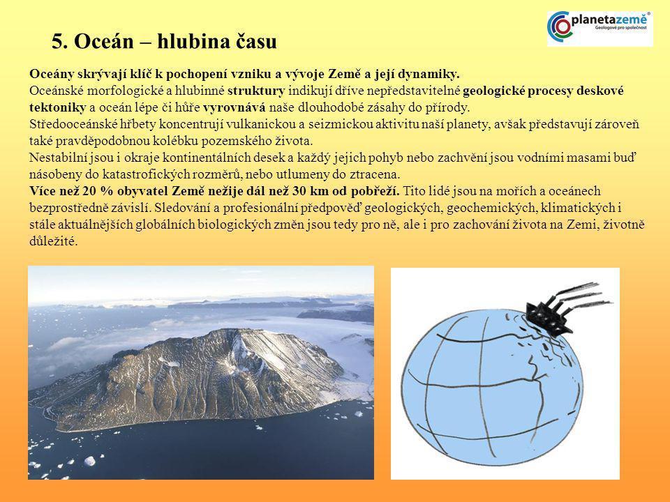 Příklady – Můj kousek Země, výtvarná soutěž s vyhlášením na veletrhu Svět knihy 2007 Česká geologická služba