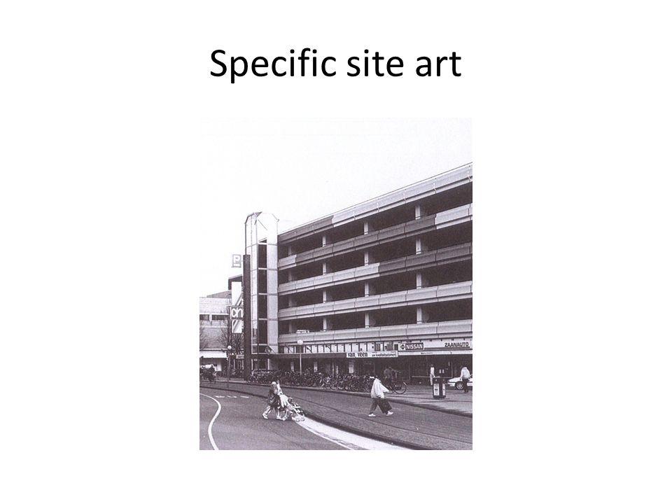 Specific site art