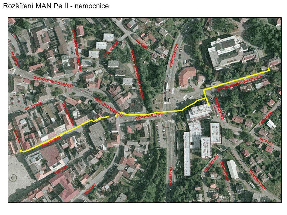 Rozšíření MAN Pe II - nemocnice