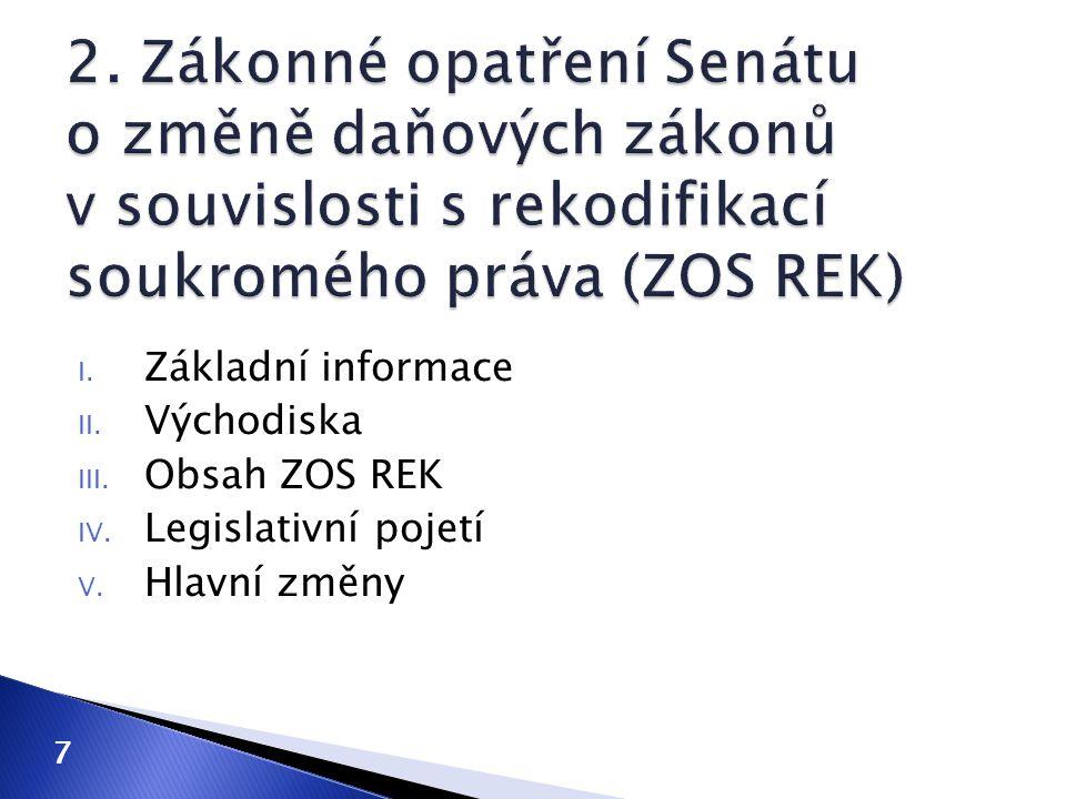  související terminologické změny ◦ zákon o daních z příjmů (příprava na 2015)  příjmy ze závislé činnosti  příjmy ze samostatné činnosti  daňový rezident České republiky a daňový nerezident  pojmenování slev na dani fyzických osob ◦ nepřímé daně  Evropské společenství  Evropská unie  celní úřad  správce daně  rušení odkazů v zákoně o spotřebních daních 18