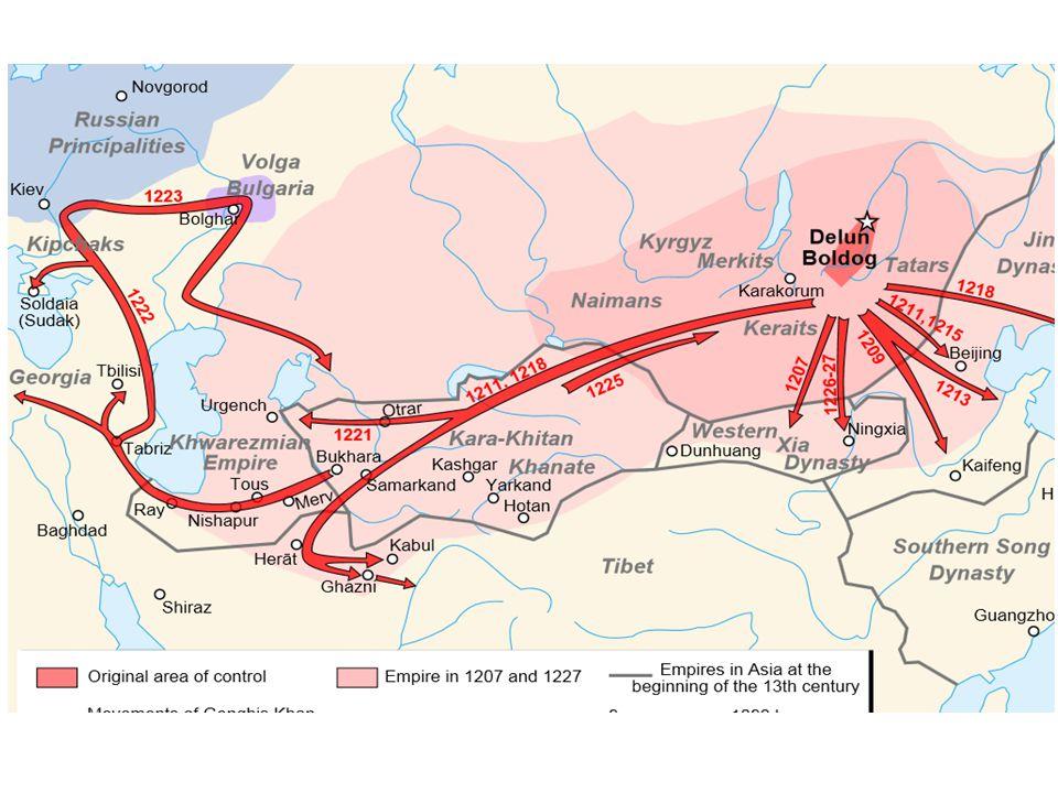 Křesťanská expanze – Italské státy • Obrat ve SZM – dobytí Córdoby 1254 a Sevilly 1248; obchod přes východní cestu, pax monglica; • Itálie – nejvyspělejší urbánní oblast, fragmentovaná suverenita '(SŘŘ, Byzanc, Papež); inovace v zemědělství a textilním průmyslu; • Dálkový obchod – sofistikované praktiky východu, oslabení pozic obchodních komunit Řeků a Židů; za italskými komunitami stojí vojenská síla republik; Byzanc upadá pod tlakem Turků (1204-1260 Latinské císařství); • Trans-alpský obchod: Flandry -> Itálie (Amalfi, Bari, Pisa, Benátky, Janov) -> SZM Islám a Byzanc -> Asie; • Benátky: podpora Byz.