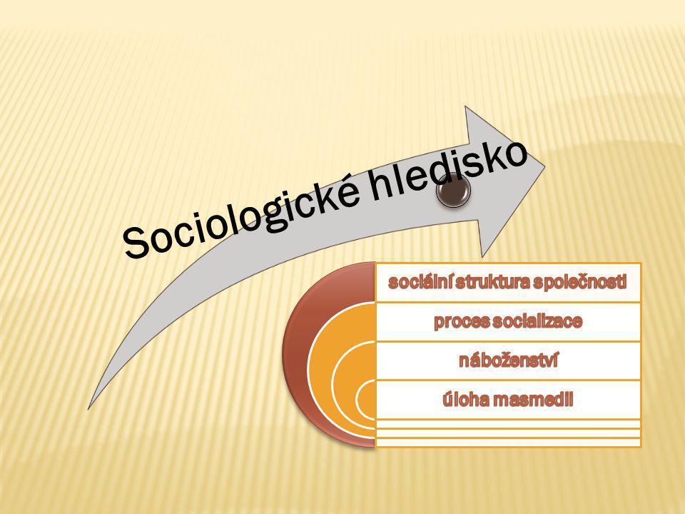 Sociologické hledisko