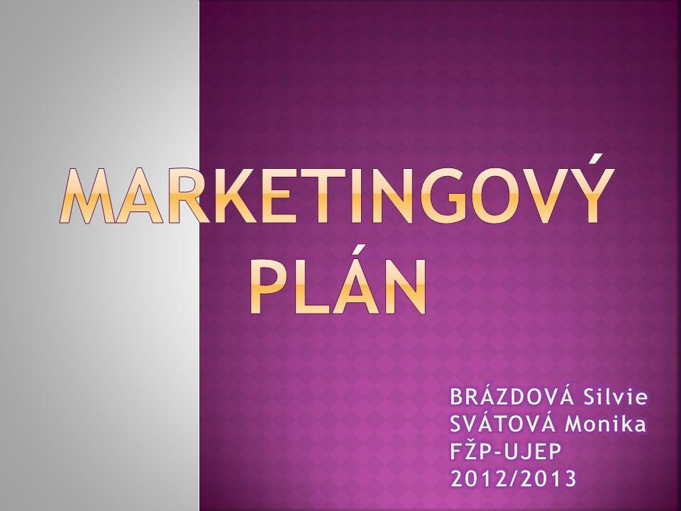 Název firmy, logo Cenová politika Plán odbytu Odbytová taktika Politika servisu a záruk Podpora prodeje Harmonogram aktivit k podpoře prodeje Marketingový rozpočet na rok