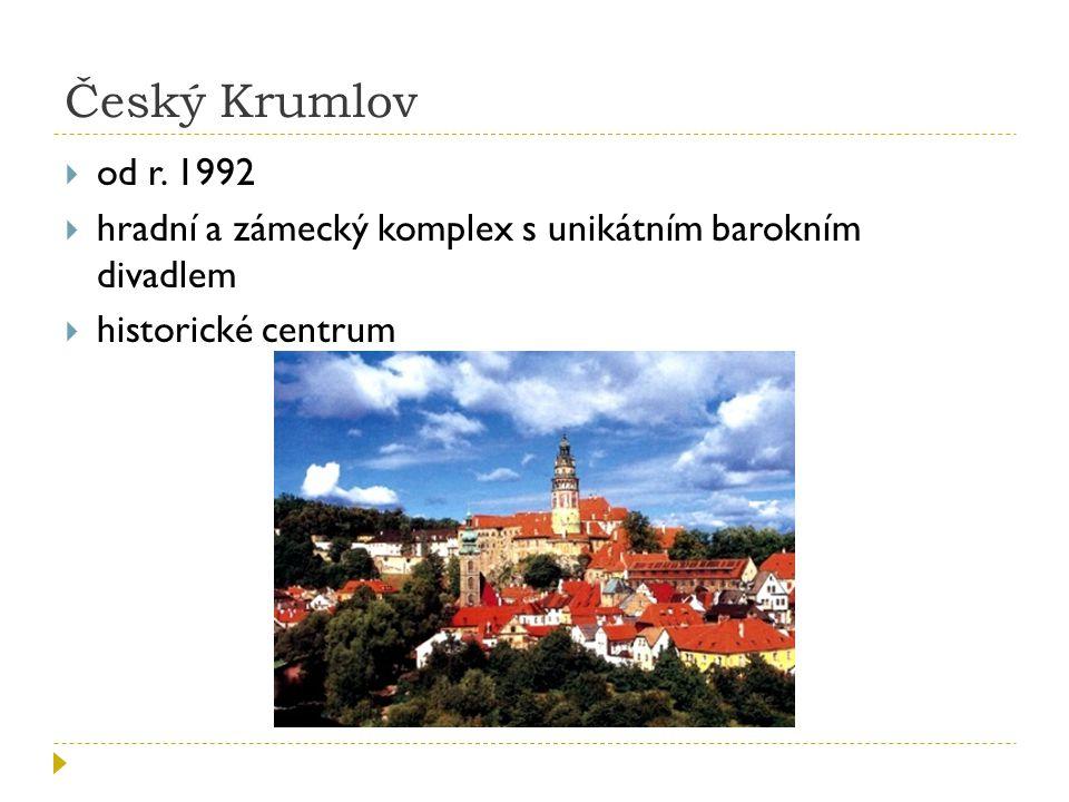 Český Krumlov  od r.