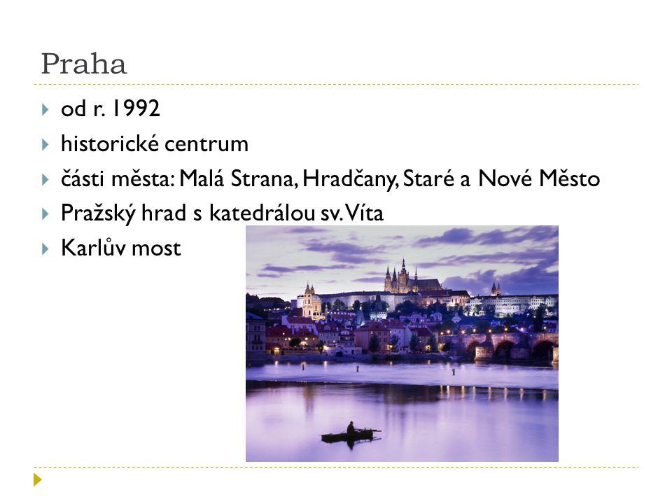 Praha  od r.