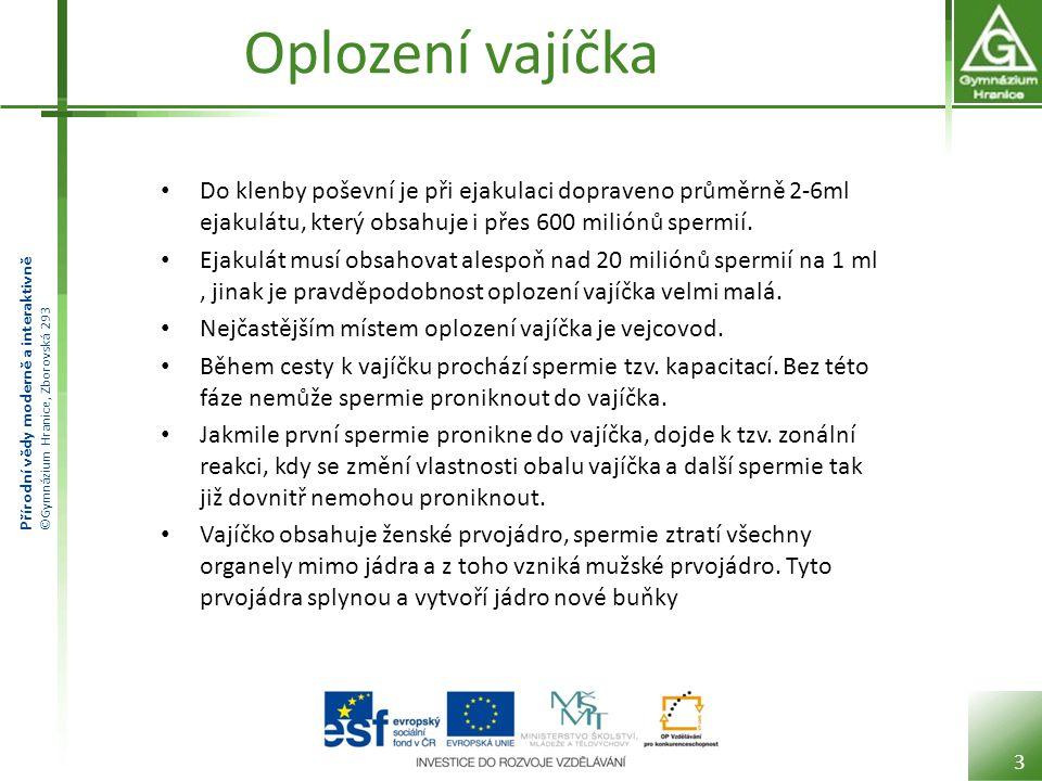 Přírodní vědy moderně a interaktivně ©Gymnázium Hranice, Zborovská 293 Pohlavně přenosné choroby • Dříve se jim říkalo nemoci pohlavní.