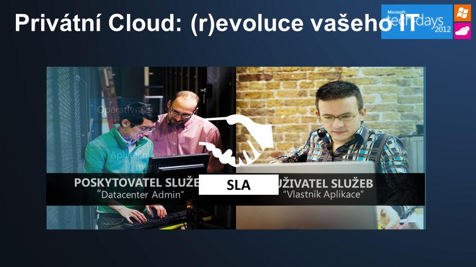 SLA Privátní Cloud: (r)evoluce vašeho IT