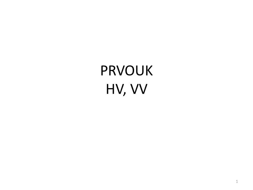 PRVOUK HV, VV 1
