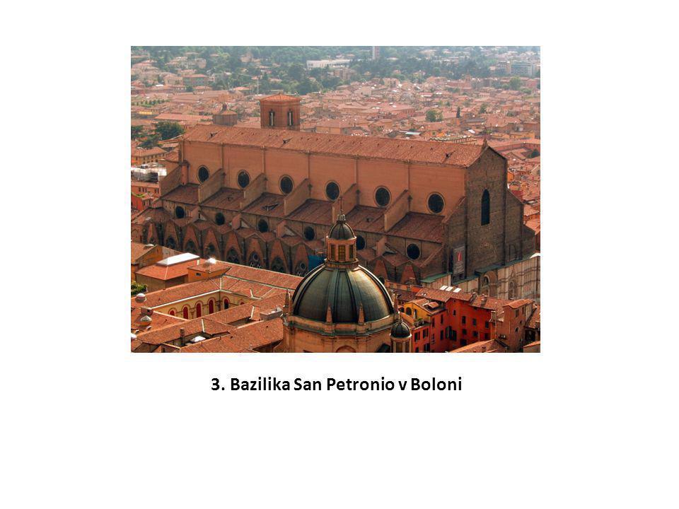 3. Bazilika San Petronio v Boloni
