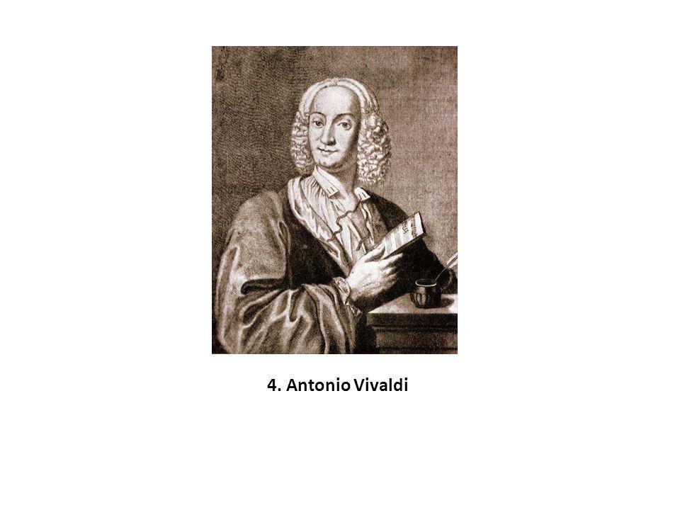 4. Antonio Vivaldi