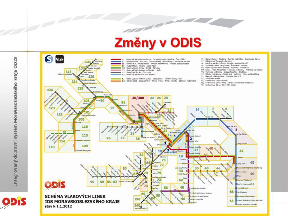 Standardizace odbavovacích zařízení Žďár nad Sázavou 2012 Integrovaný dopravní systém Moravskoslezského kraje ODIS