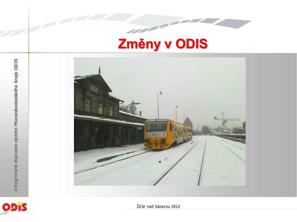 V průběhu roku 2013 je předpokládáno: • rozšíření ODIS o oblast Frýdecko-Místecka a Havířovska • rozšíření ODIS o MHD Karviná a Orlová • zapojení dalších dopravců do systému MSkarta (DPO a ČD el.