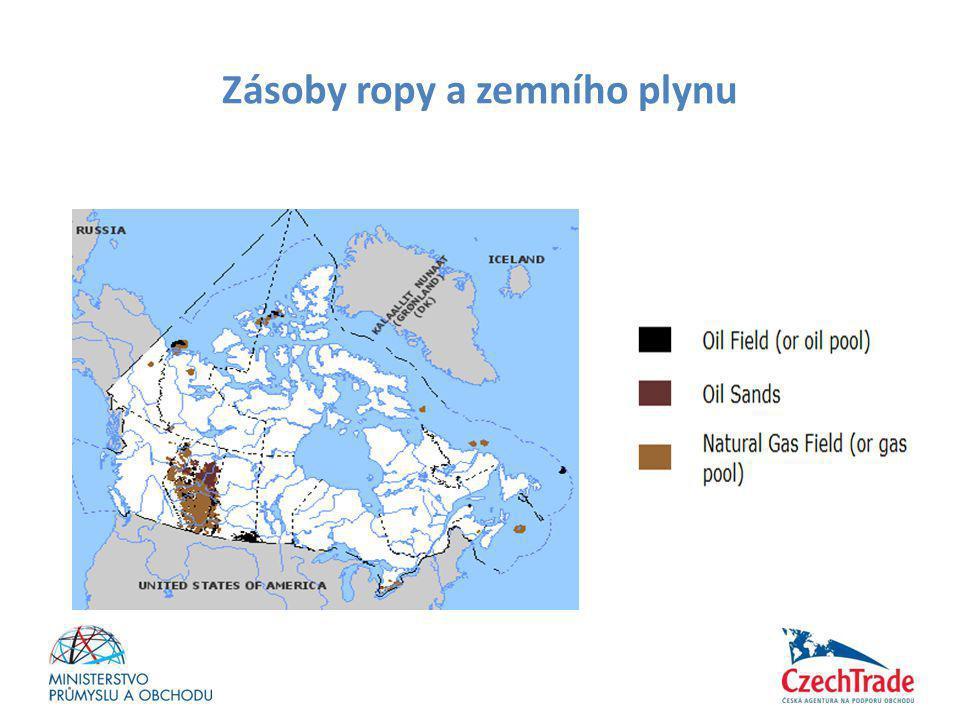 Zásoby ropy a zemního plynu