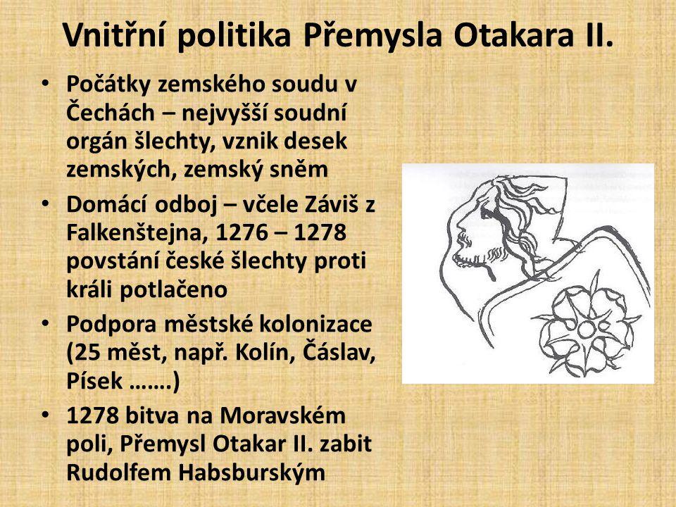 • 1266 obsazeno Chebsko – České panství sahalo od Krkonoš až k Jaderskému moři