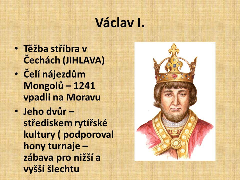 Zdroje: • Portréty panovníků použity z knihy: Čornej, P.: Panovníci českých zemí.