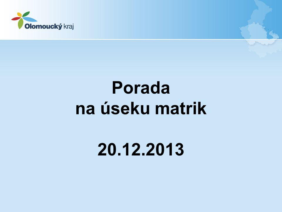 2. Převzetí úpravy matriční agendy ze zákona o registrovaném partnerství do zákona o matrikách 12