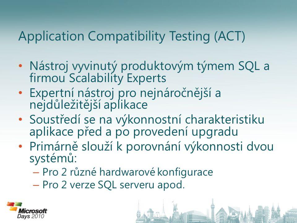 • Nástroj vyvinutý produktovým týmem SQL a firmou Scalability Experts • Expertní nástroj pro nejnáročnější a nejdůležitější aplikace • Soustředí se na