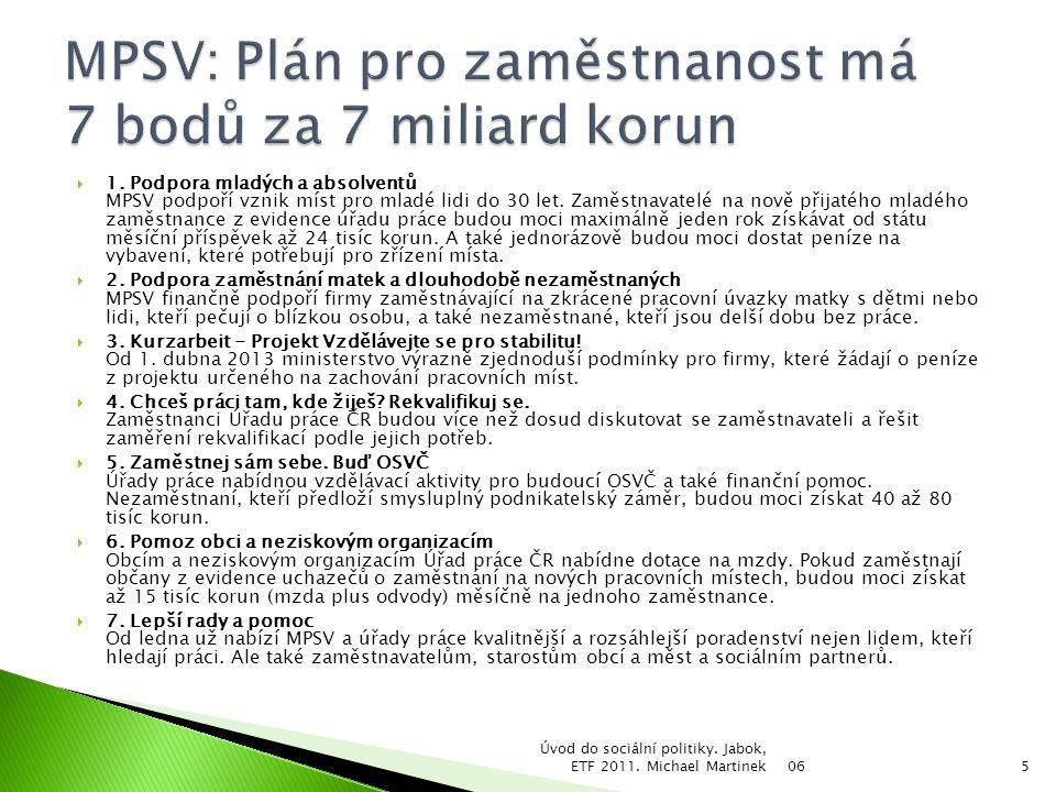 06 Úvod do sociální politiky.Jabok, ETF 2011.