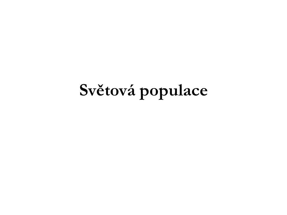 Urbanizace Významným jevem ve vývoji světové populace v posledních dvou stoletích je urbanizace, růst populace, která žije v sídlech s více než 5 000 obyvateli.