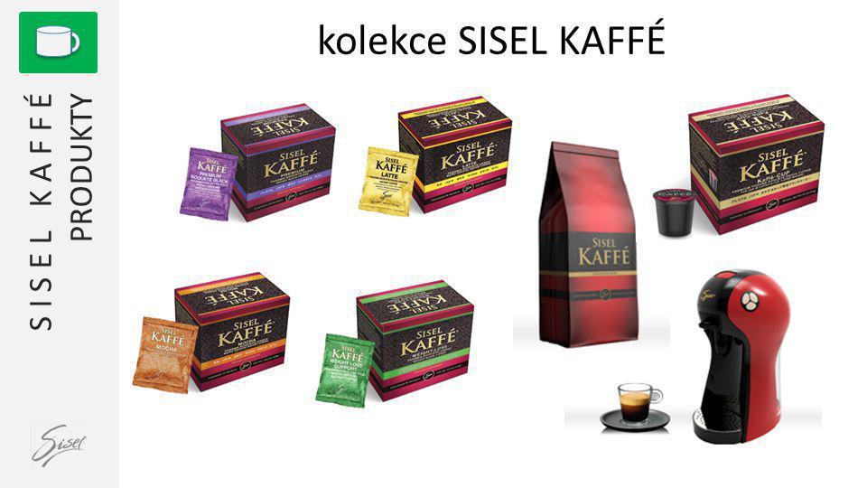 1 S I S E L K A F F É PRODUKTY kolekce SISEL KAFFÉ