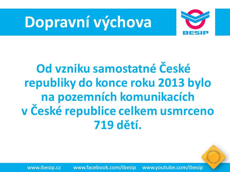 """BESIP v ČR - realita • Pro děti předškolního věku : – """"Na přechodu , – """"V autě a – """"Viditelnost ."""