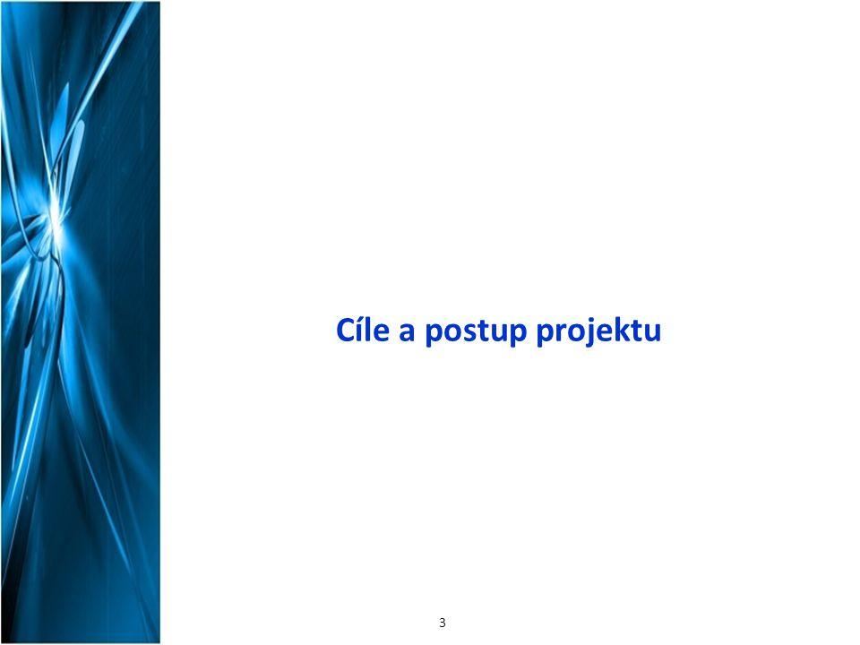 Cíle a postup projektu 3