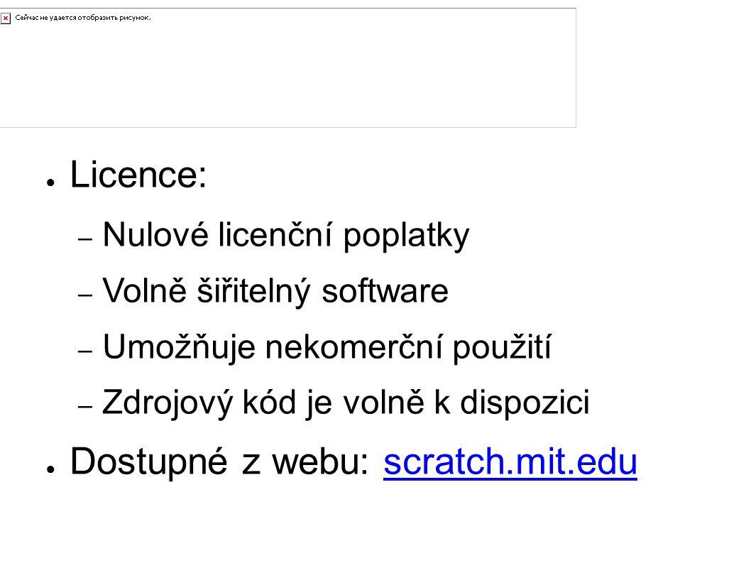 Pořízení ● Licence: – Nulové licenční poplatky – Volně šiřitelný software – Umožňuje nekomerční použití – Zdrojový kód je volně k dispozici ● Dostupné