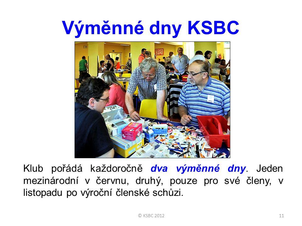 Výměnné dny KSBC Klub pořádá každoročně dva výměnné dny. Jeden mezinárodní v červnu, druhý, pouze pro své členy, v listopadu po výroční členské schůzi
