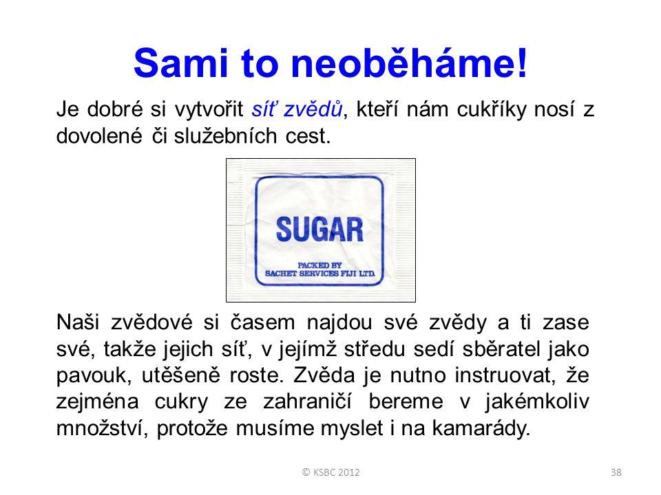 © KSBC 201238 Sami to neoběháme.