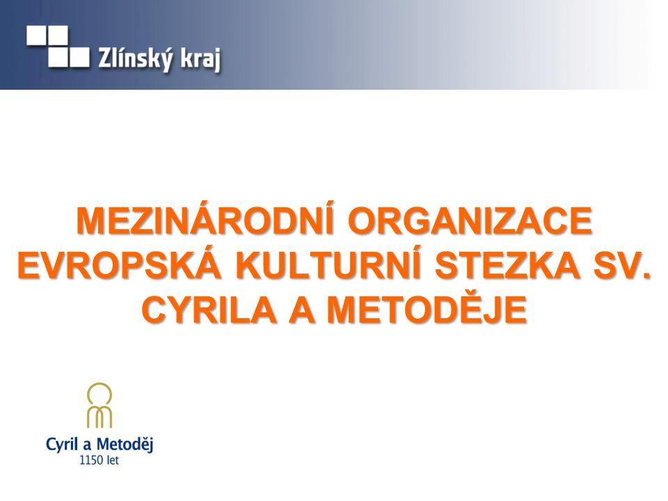 ZÁJMOVÉ SDRUŽENÍ PRÁVNICKÝCH OSOB ORGANIZACE EKS C&M  Zakladatelé: Zlínský kraj, Centrála cestovního ruchu Východní Moravy, o.p.s.