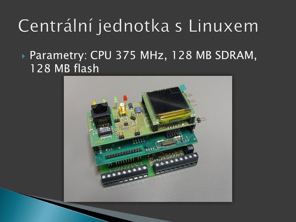  Parametry: CPU 375 MHz, 128 MB SDRAM, 128 MB flash